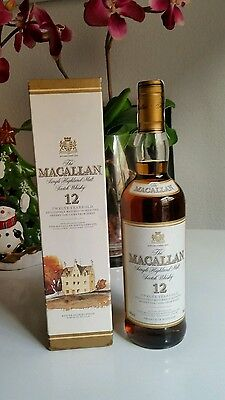 Whisky Macallan 12 Years Old Sherry Oak 40% , 70 Cl.