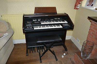 Technics sx-EN3 organ with stand, stool, manual and beginner books