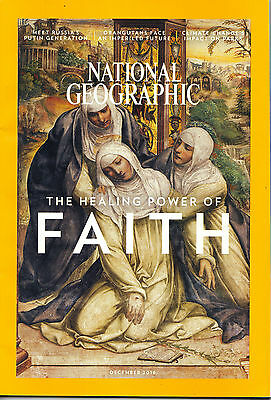 National Geographic The Healing Power of Faith! 12/2016 Engl. Ausgabe TOP!!!