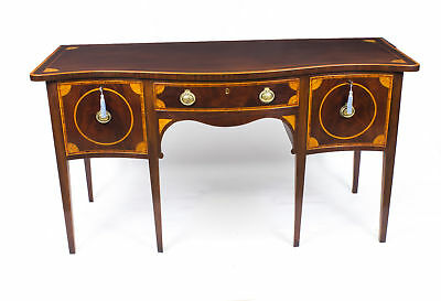 Antique Sheraton Style Inlaid mahogany Sideboard 19thC