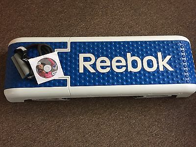 Reebok Step - Excellent condition - resistance band and DVD included
