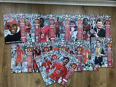 Bristol City football programmes