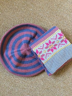 Brand new Boden Girls Hat And Scarf 7-10 Years