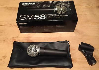 Shure SM58 Cardioid Dynamic Vocal Microphone 05