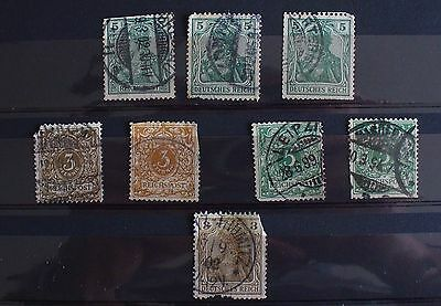 timbres anciens ALLEMAGNE