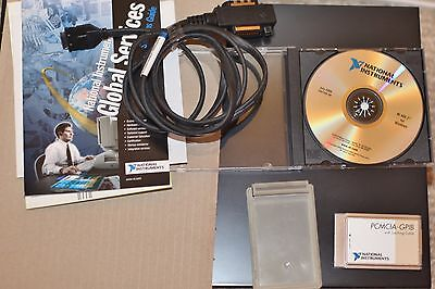 National Instruments PCMCIA -GPIB card with Latching Cable in box with software