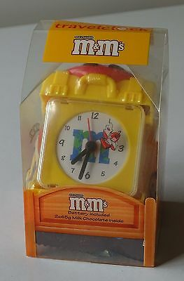 M&M collectables travel alarm clock