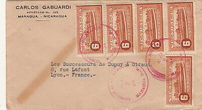 Nicaragua Cover Managua to france