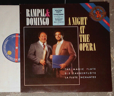 (Jean-Pierre) Rampal & (Placido) Domingo A Night At The Opera Lp