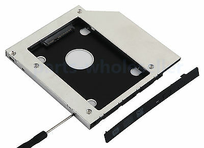 615NEW 2nd HDD SSD Hard Drive Caddy for Dell XPS L502X L501X 12.7mm SATA to SATA