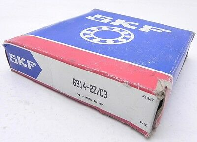 SKF Shielded Ball Bearing 6314-2Z/C3