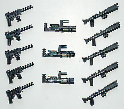 Little Arms - 13 Minigun Blaster Waffen Set für LEGO® Star Wars™