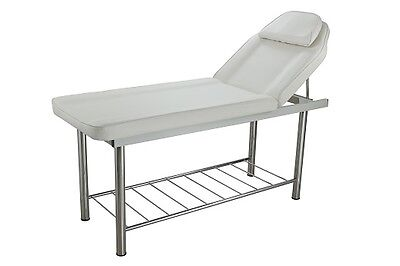Static Couch with Metal Storage Rack, For Beauty Salons & Home Business Use