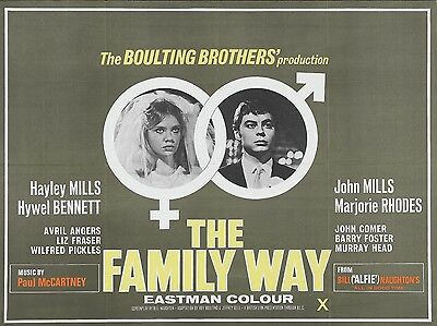 """Family Way 16"""" x 12"""" Reproduction Movie Poster Photograph"""