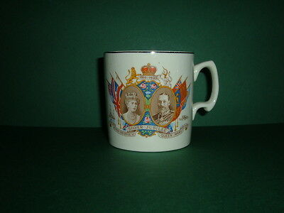 King George V And Queen Mary Silver Jubilee Commemorative Mug - 1910-1935