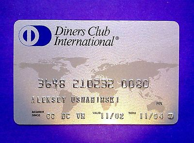DINERS CLUB INTERNATIONAL RUSSIA credit card