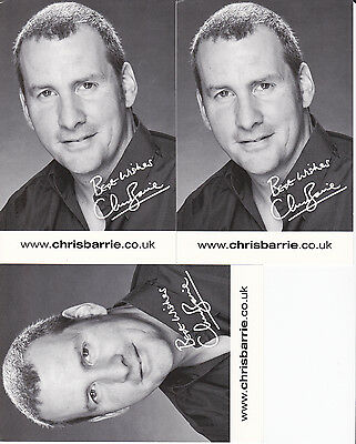 Chris Barrie Red Dwarf 3 Publicity Cards