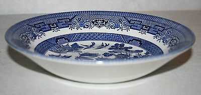Churchill Blue Willow Coup Soup Bowl MULTIPLES AVAILABLE