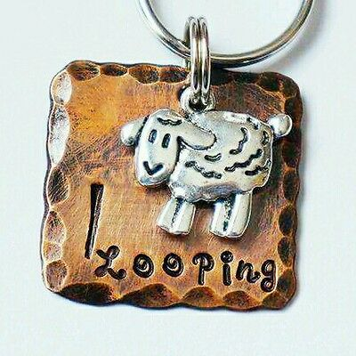 Collar Pet ID Tags Dog Tags Cat ID Tags -personalized handmade Sheep Herding