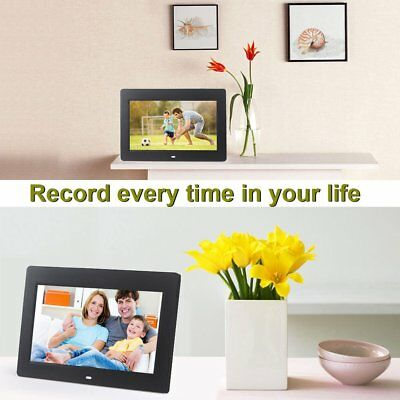"""HD Digital Photo Frame 10.2"""" Inch LCD Picture Calendar MP3 MP4 Movie Player UK"""