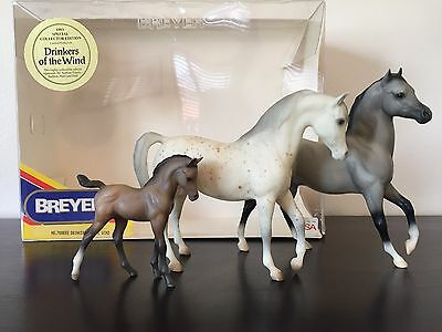 Breyer #700693 '93 Special Collector  Ed. Drinkers Of The Wind Set. Original Box