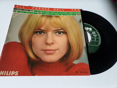 Vinyle 45T France GALL  (avec Gainsbourg) Baby Pop