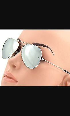 Ray Ban RB3025 Unisex Sunglasses Silver Frame/ Mirror Lens