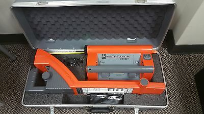 Metrotech 9800 Cable Pipe Fault Locator w/ Case