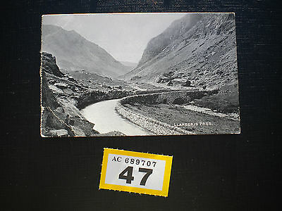 Vintage Postcard Llanberis Pass posted to Bromley 1908