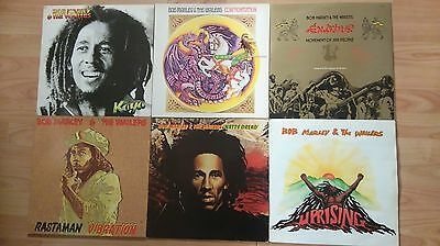 Bob Marley and the Wailers 6 LP Collection.