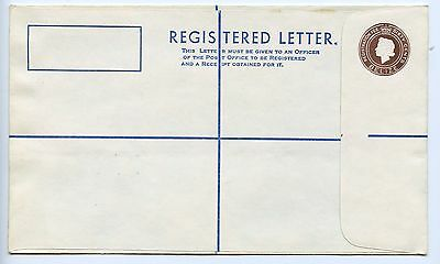 Belize postal stationery registered letter envelope unused (L114)