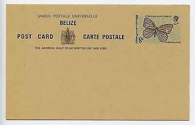 Belize postal stationery postcard unused (L112)