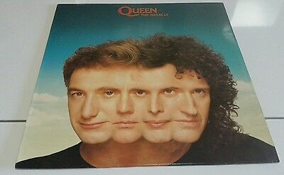 QUEEN-The miracle(LP)1989 SPANISH+INSERT EX