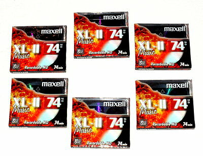 bespielbare Minidisk / recordable Minidisk / recordable MD - MAXELL XL-II 74MD