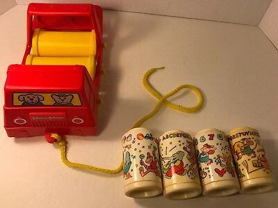Johnson & Johnson Rhythm musicRollers pull toy Complete