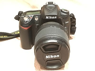 Nikon D90 Digital SLR Camera 18-105mm VR Lens