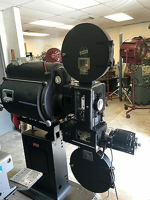 "Simplex XL Peerless Magnarc RCA 9030 LL3 18"" Mags 35mm Projector Museum Quality"