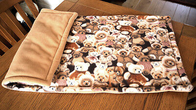 Fleece cage liner  for ap hedgehogs guinea pigs and small animal