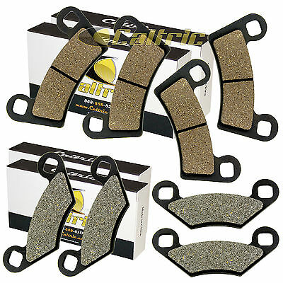 FRONT and REAR BRAKE PADS FIT POLARIS RZR 570 2012 2013 2014 2015 2016