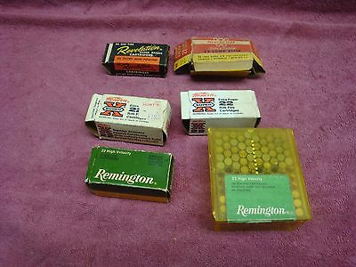 Vintage Revelation, Winchester, Western Super X and Remington Ammo Boxes (6)