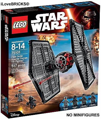 Lego Star Wars First Order Special Forces Tie Fighter From #75101 No Minifigures