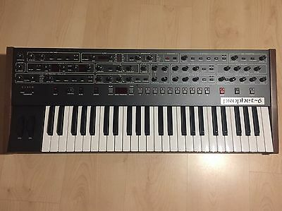 Dave Smith Sequential Circuits Prophet 6 Polyphonic Analog Synthesizer