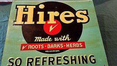 Large Hires Sign-So Refreshing
