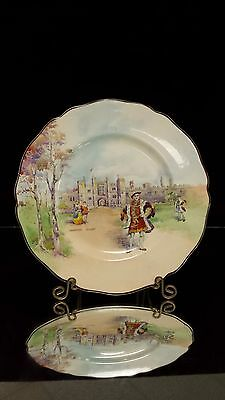 Royal Doulton King Henry VIII At Hampton Court Collector Plate