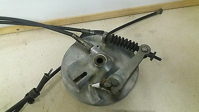Kawasaki Ke100 G5 Front Brake Hub & Working Speedo Drive & Cables