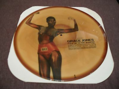 """Grace Jones - Pull Up To The Bumper (Remix) - 12"""" Picture Disc Island Records"""