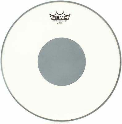 Remo CS-0114-10 14 Inch CS Batter Coated Snare Drum Head with Black Dot