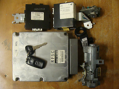 Mazda 6 Mk1 2.0 Diesel Ecu/immobiliser Kit & Lock Set Rf5C