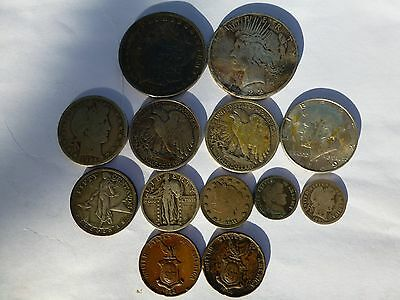 united states of america job lot silver coins