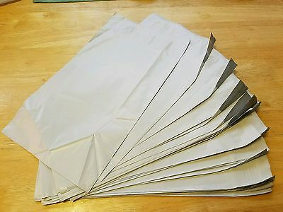 50 6x9 White Poly Mailers Self Sealing  Polyethylene Shipping Envelopes Bags